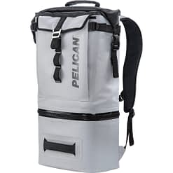 SOFTCBKPKLGRY_Pelican Soft Cooler Backpack – Compression Molded Grey