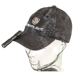 Streamlight MicroStream Pocket Sized USB Recharge Flashlight on Hat