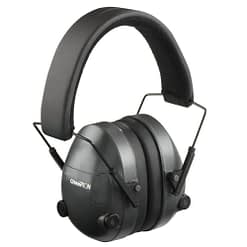 Champion Electronic Ear Muffs - 25db Black