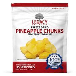 Bulk Freeze Dried Pineapple Chunks