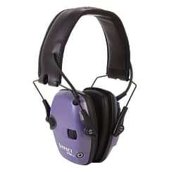 Howard Leight Impact Sport - Purple Electronic Muff Nrr22