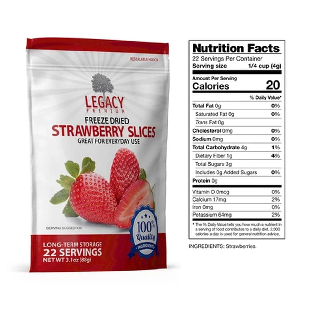 legacy strawberry slices slices fact