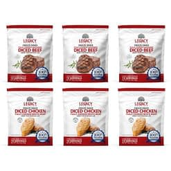Assorted 100% USDA Freeze Dried Meat Package