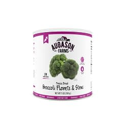 Freeze Dried Broccoli Florets & Stems