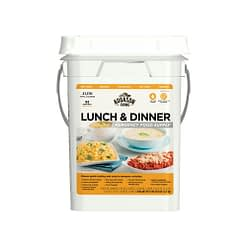 Emergency Food Supply Lunch & Dinner Pail