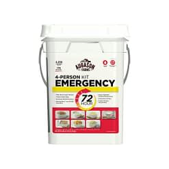 72 Hour 4-Person Emergency Food Supply Kit