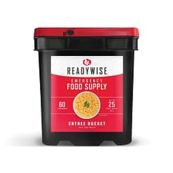 Emergency Freeze Dried Entree Bucket - 60 Serving