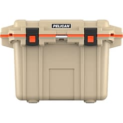 50Q-2-TANORG_Pelican Coolers Im 50 Quart – Elite Tan-orange