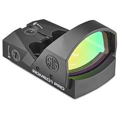 Sig Sauer Romeo1Pro 1x30mm Red Dot Sight, 6 MOA Dot Reticle, SOR1P101