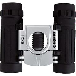 Konus Binoculars 8x21 Compact - Roof Prism Black-silver