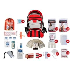 2 Person Survival Kit Red