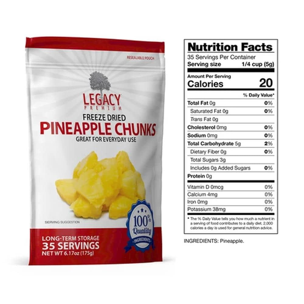 legacy pineapple slices fact
