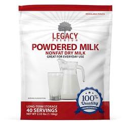 "USDA Grade ""A"" Powdered Milk"