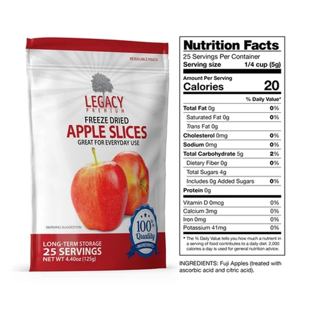 legacy apple slices fact