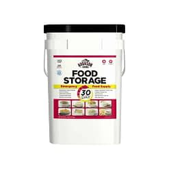 30 Day Food Storage Emergency Food Supply