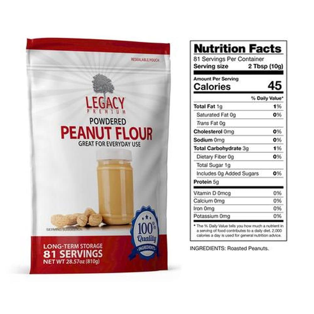 legacy LE0032 peanut butter slices fact680