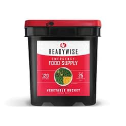 ready wise veggies 120 servings