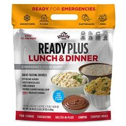 Augason Farms READY PLUS Lunch & Dinner Emergency Food Supply