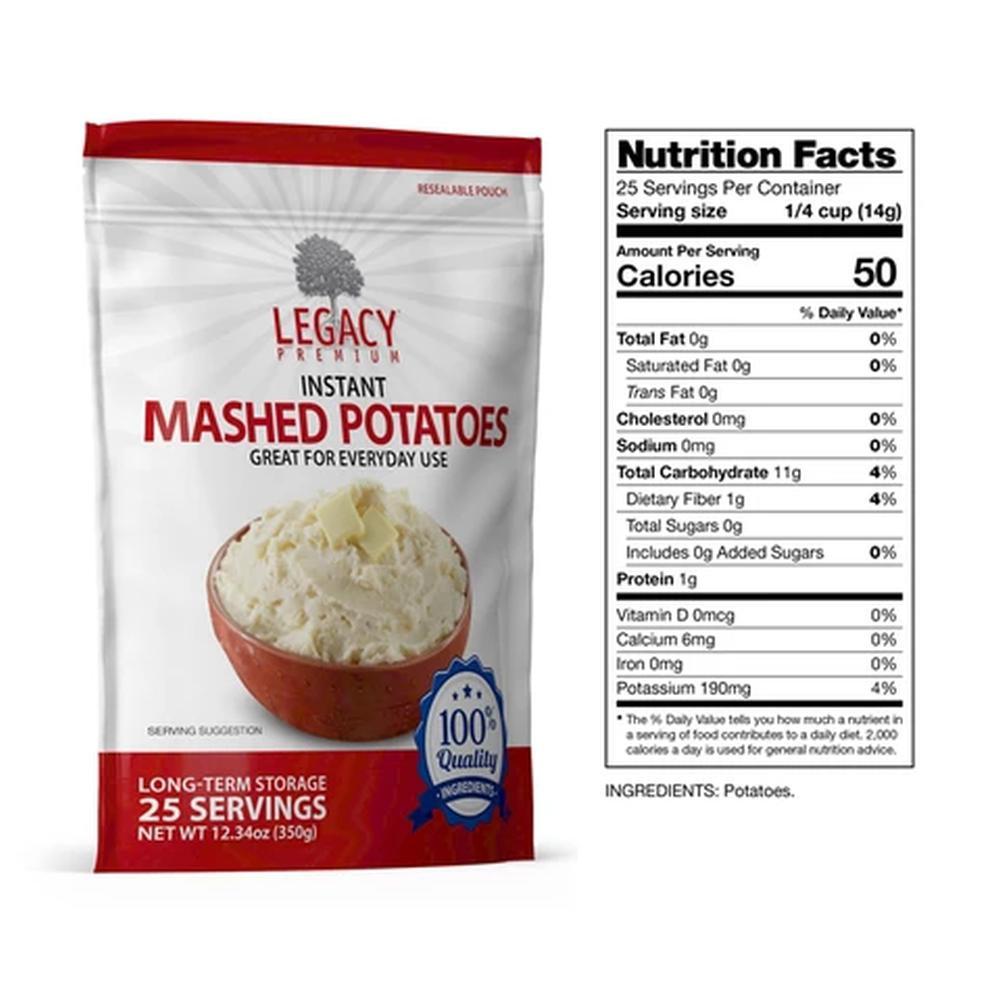 legacy mashed potatoes slices fact