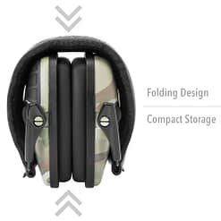 Howard Leight Impact Sport - Multicam Electronic Muff Nrr22 Closed