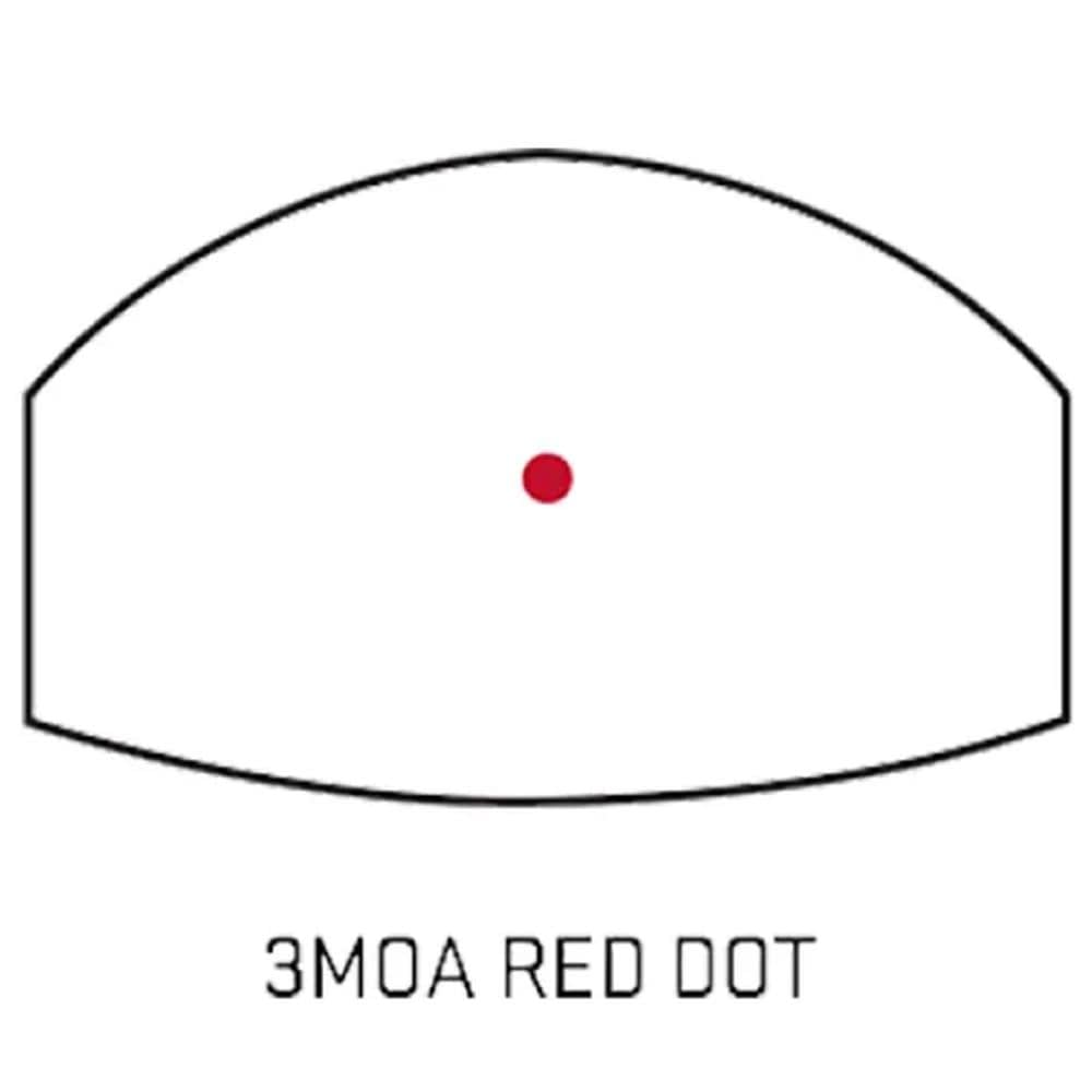 3 MOA Red Dot